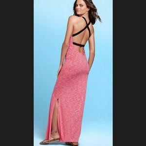 Victoria's Secret Criss-Cross Back Maxi Dress
